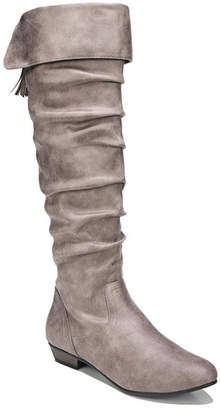 Fergalicious Rookie Scrunch Knee High Boot