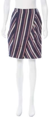 Pauw Silk Stripe Skirt w/ Tags