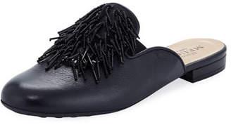 Sesto Meucci Kala Embellished Leather Slide Mule