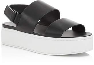 Vince Women's Westport Leather Platform Sandals - 100% Exclusive