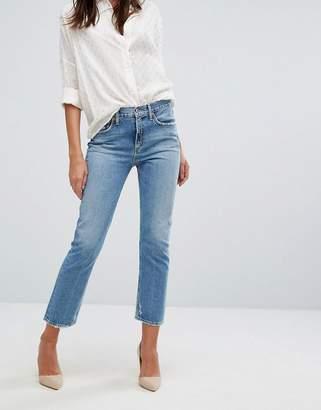 A Gold E A-Gold-E Cigarette Low Waist Straight Leg Jean
