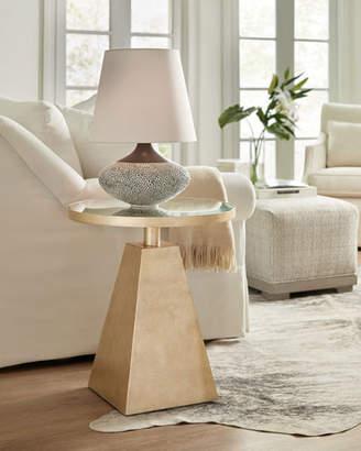 Hooker Furniture Golden Pyramid End Table