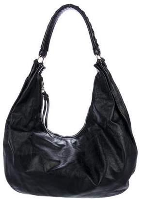 Miu Miu Distressed Leather Hobo