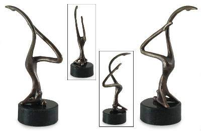Equilibrium Bronze sculpture