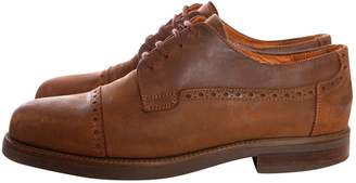 Johnston & Murphy Brown Leather Lace ups