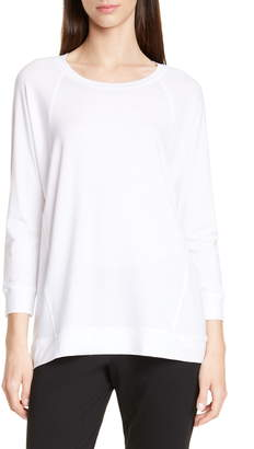 Eileen Fisher Split Hem Tee