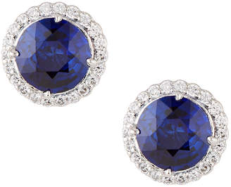 FANTASIA Antique-Inspired Round Stud Earrings