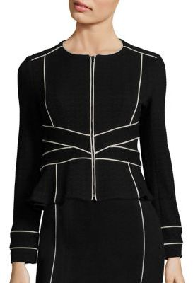Nanette Lepore Signorina Long Sleeve Jacket $528 thestylecure.com