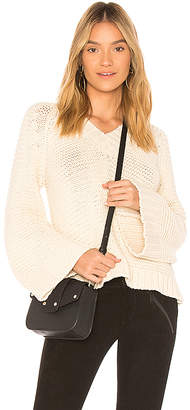 Anine Bing Bell Sleeve Knit Sweater