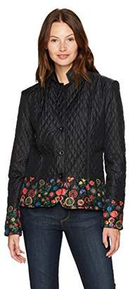 Desigual Women's Padding Juliette Woman Woven Blazer