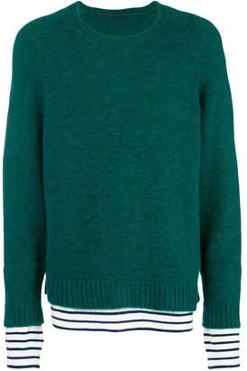 Haider Ackermann layer detail sweater
