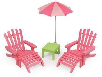 Badger Basket 6-Piece Doll Patio Furniture Play Set