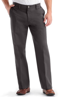 Lee Men's Custom Fit Straight-Fit Flat-Front Pants