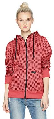 Volcom Junior's Stone DOT Hooded Hydrophobic Fleece