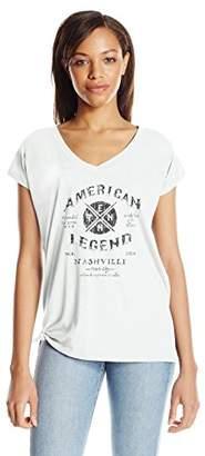 William Rast Women's Willliam Rast-Amor Graphic Tee Shirt