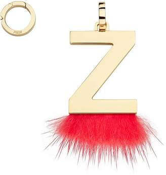Fendi ABClick Z pendant charm
