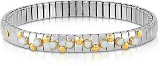 Nomination Golden Stainless Steel Women's Bracelet w/White Opal Beads