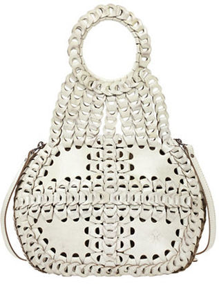 Patricia Nash Leather Chainlink Pisticci Shoulder Bag $399 thestylecure.com