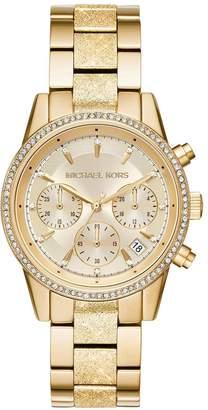Michael Kors Ritz Gold Tone Ladies Watch