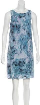 Rebecca Taylor Sleeveless Printed Dress