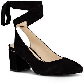 Women's Nine West Andrea Ankle Wrap Pump $62.99 thestylecure.com