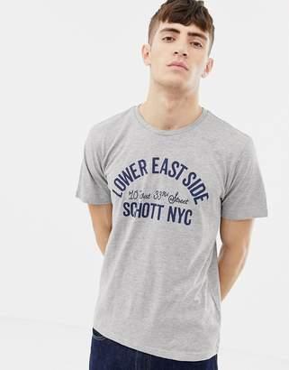 Schott Printed T-Shirt