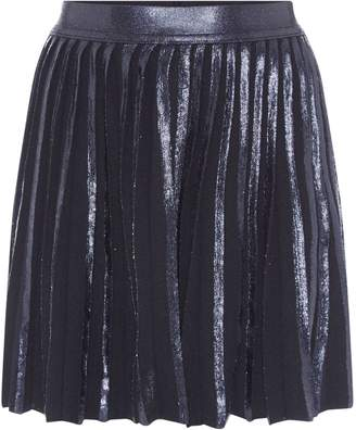 Benetton Girls Foil Print Pleated Skirt
