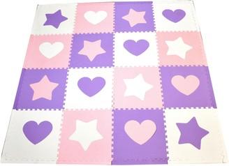 Tadpoles Hearts & Stars Play Mat