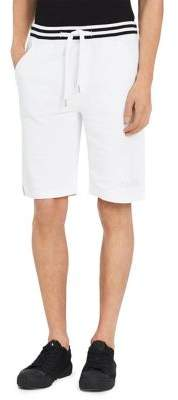Calvin Klein Jeans Ribbed Tipping Logo Cotton Shorts