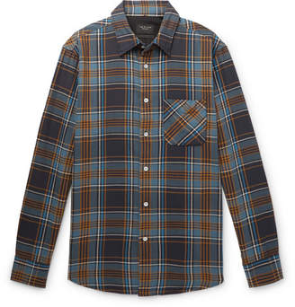 Rag & Bone Fit 3 Checked Cotton-Twill Shirt