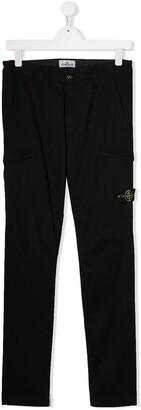 Stone Island Junior TEEN casual trousers