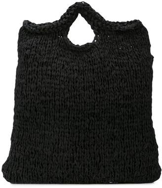 Casey Casey knitted tote bag
