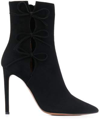 L'Autre Chose bow detail boots