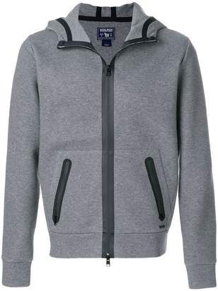 Woolrich zip-up hooded sweatshirt