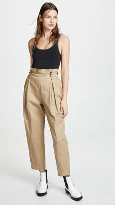 Alexander Wang Trousers with Studded Belt Loops