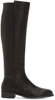 Stuart Weitzman 20mm Halfway Leather Tall Boots