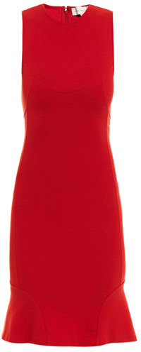 Stella McCartney Compact jersey fishtail dress