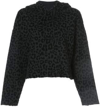 555d61a6b7ca8c ... off at Farfetch · RtA leopard print hoodie