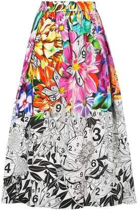 Mary Katrantzou paint-by-numbers skirt