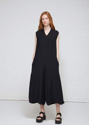 Oyuna Oversized Sleeveless V-neck Jumpsuit