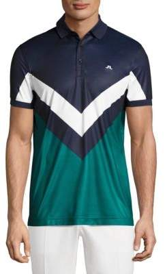 J. Lindeberg Golf Arvid Racing Printed Polo