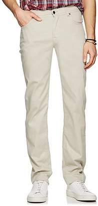 Marco Pescarolo MEN'S STRETCH COTTON-SILK FIVE-POCKET PANTS - GRAY SIZE 32