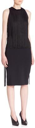 Stella McCartney Fringe Sheath Dress