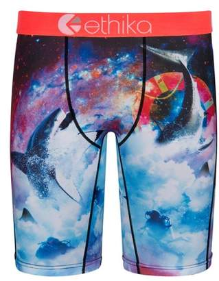 Ethika Space Sharks Stretch Boxer Briefs