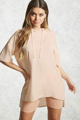 Forever 21 Contemporary Satin Tunic