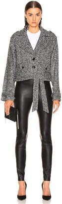 Marissa Webb Ryker Boucle Jacket in Black Melange | FWRD