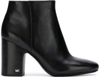 MICHAEL Michael Kors block heel ankle boots