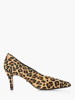 Dune Ari Kitten Heel Court Shoes