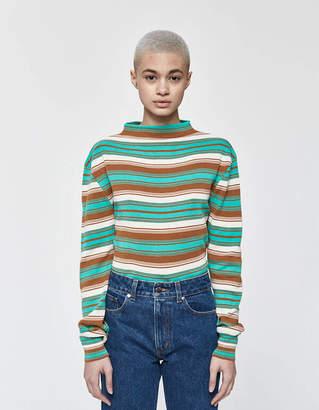 Marni Long Sleeve Mock Neck Sweater