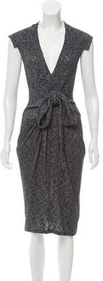 Vena Cava V-Neck Sweater Dress